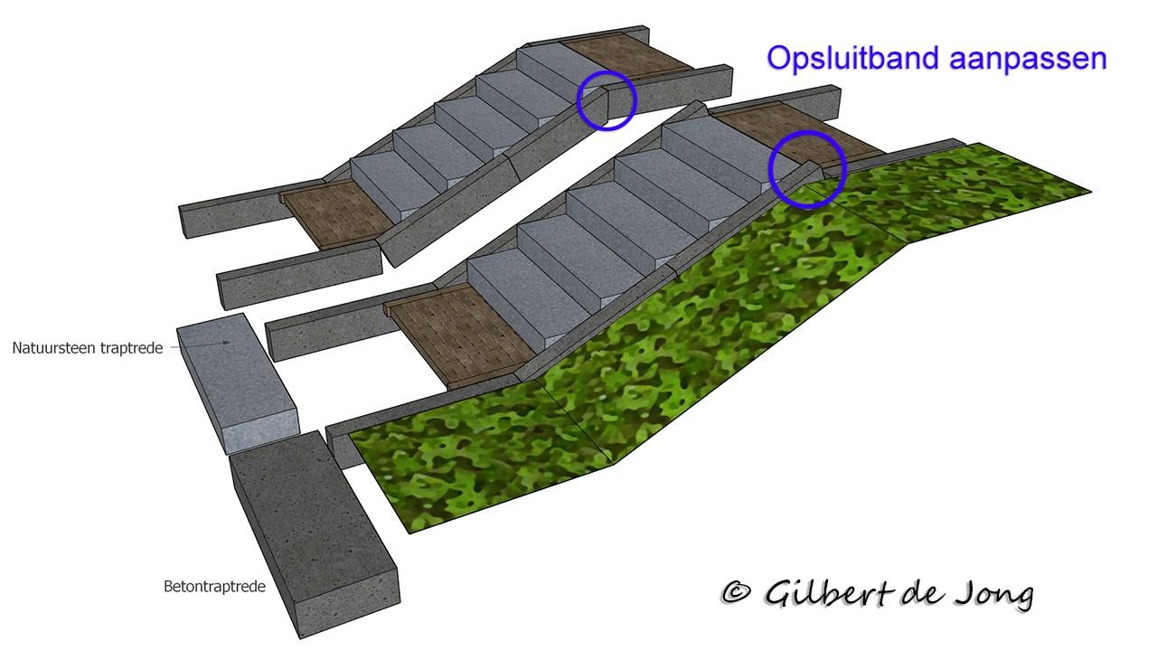 Verwonderlijk Tuintrappen - Tuinontwerpervinden.nl TOG HT-63